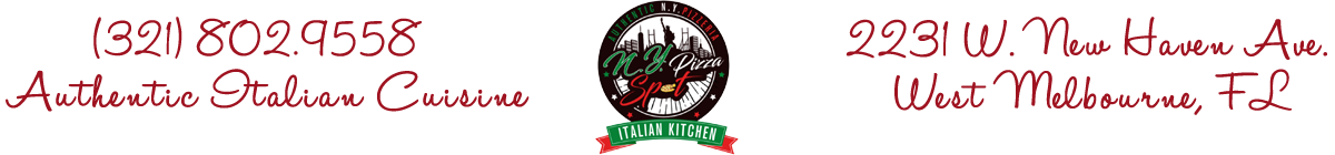 N.Y. Pizza Spot &  Italian Kitchen
